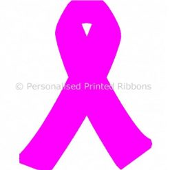 Bright Pink Ready to Wear Charity Awareness Ribbons
