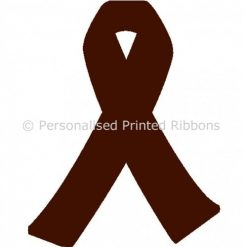 Brown Ready to Wear Charity Awareness Ribbons