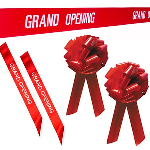 Grand Opening Ribbons