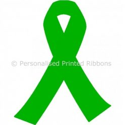 Lime Green Ready to Wear Charity Awareness Ribbons