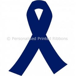 Navy Blue Ready to Wear Charity Awareness Ribbons