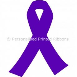 Purple Ready to Wear Charity Awareness Ribbons