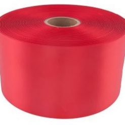 Red 100m wide satin ribbon