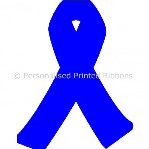 Royal Blue Ready to Wear Charity Awareness Ribbons (Pk 25)