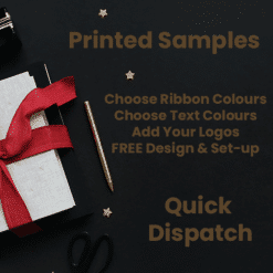 Custom Printed Samples with text & logos quick delivery wholesale discounts free