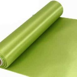 Apple Green Extra Wide Satin Ceremonial Ribbon
