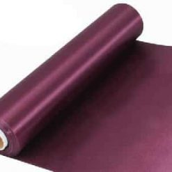 Burgundy Satin Extra Wide Ceremonial Ribbon