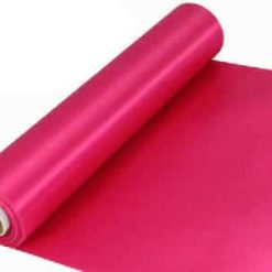 Fuchsia Pink Extra Wide Satin Ceremonial Ribbon