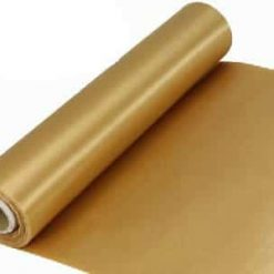 Gold Extra Wide Satin Ceremonial Ribbon