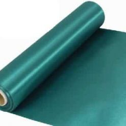 Emerald Green Extra Wide Satin Ceremonial Ribbon