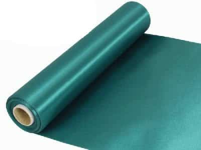 Emerald Green Extra Wide Satin Ceremonial Ribbon