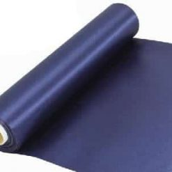 Navy Blue Extra Wide Satin Ceremonial Ribbon