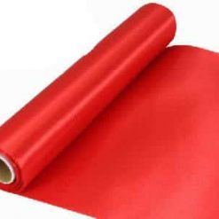 Red Extra Wide Satin Ceremonial Ribbon