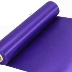 Purple Extra Wide Satin Ceremonial Ribbon