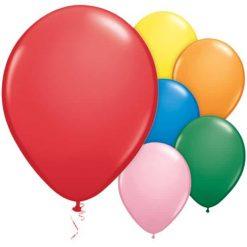 Assorted Standard Latex Balloons