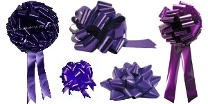 Big Purple Bows