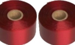 45mm claret printed ribbons