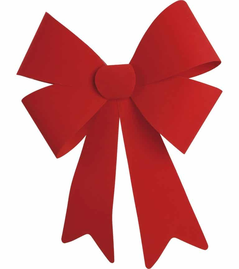 Big Red Bow For Christmas Decorating Indoors Other Big