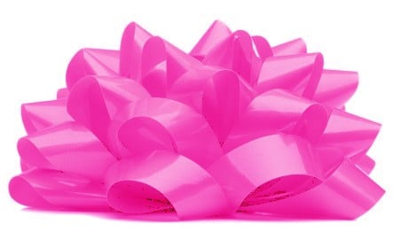 Large Bows For Cars In Bright Pink Buy Now For Next Day