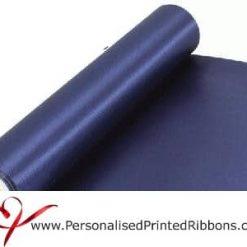 Navy Blue Wide Satin Ribbon - 290mm wide - 20 metre roll