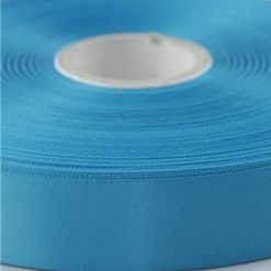 Kingfisher Turquoise 100mm wide Satin Ribbon, 50 metres long