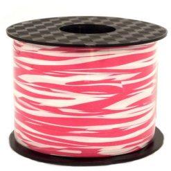 pink zebra printed ribbons
