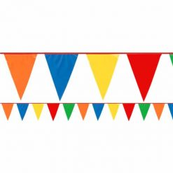 Multi Coloured Plastic Bunting