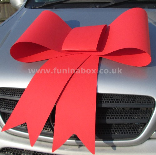 Big Plastic Bows For Outdoor Use By Personalised Printed