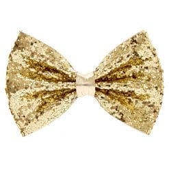 Giant Gold Glitter Bow