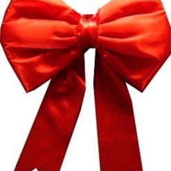 Red Satin Big Bows