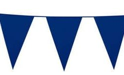 Blue Plastic Bunting 10 meres long
