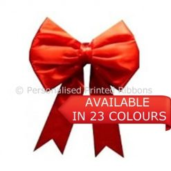 BIG CAR SATIN 30cm BOWS AVAILABLE NOW NEXT DAY DELIVERY IN THE UK