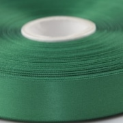 Green 100mm wide Satin Ribbon, 5 metres long