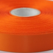 Orange 100mm wide Satin Ribbon, 5 metres long