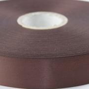 Brown 100mm wide Satin Ribbon, 5 metres long