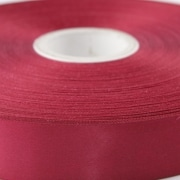Claret 100mm wide Satin Ribbon, 50 metres long