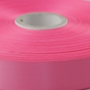 Rose Pink 100mm wide Satin Ribbon, 50 metres long