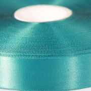 Teal Green 100mm wide Satin Ribbon, 5 metres long