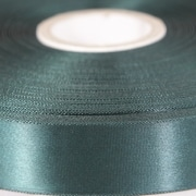 Forest Green 100mm wide Satin Ribbon, 50 metres long