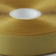 Old Gold 100mm wide Satin Ribbon, 50 metres long