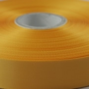 New Gold 100mm wide Satin Ribbon, 50 metres long