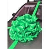 Emerlad Green Car Bow