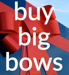 Buy Big Bows in the UK - Next Day Delivry