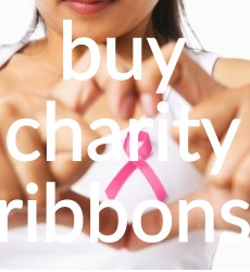Buy Charity, Remembrance, Awareness Ribbons - From 40p each
