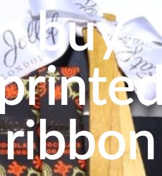 Buy Printed Ribbons in the UK