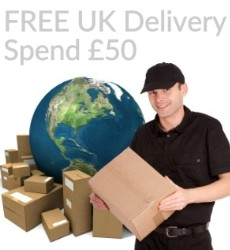 Free Delivery On Printed Ribbons & Big Bows Just Spend £50 - UK Only