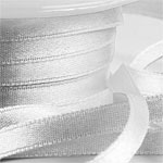 Buy 6mm Wide Satin White Ribbons from Personalised Printed Ribbons