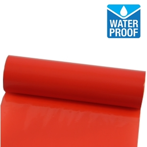 Waterproof Red Print