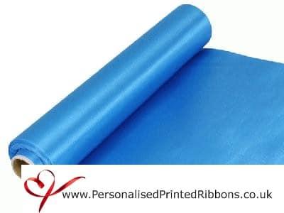 Turquoise Blue Satin