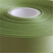 Apple Green  Single Faced Satin Ribbon 48mm Wide
